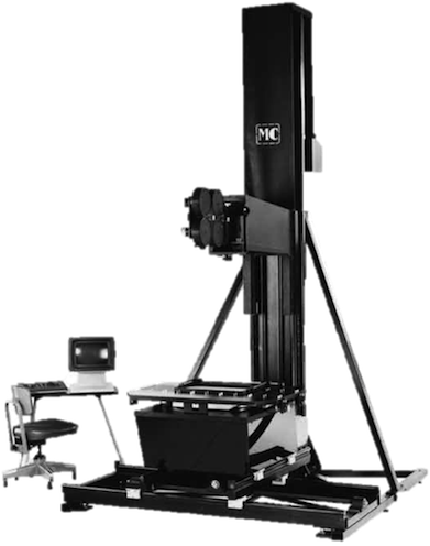Mechanical concepts animation stand with 3 axis gimbal for Animation stand